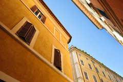 Old streets of Rome, Italy Royalty Free Stock Photography
