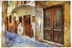 Old streets series Royalty Free Stock Photos