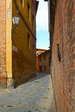 Old streets of Siena, Italy, Europe Stock Image