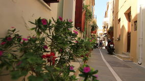 Old streets stock footage