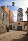 Old streets of Vyborg Royalty Free Stock Photo