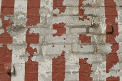 Old striped wall background Royalty Free Stock Photos