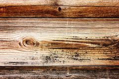 Old stripy wooden texture Royalty Free Stock Photography