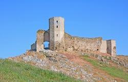 Old stronghold enisala. Old greek stronghold named enisala Stock Photos