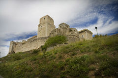 Old stronghold in the Tuscany town of Assisi Stock Photography