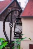 Old strret oil lamp Stock Photos