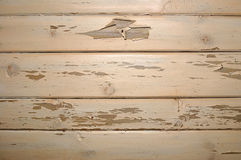 Old structure of boards. With the peeled off paint royalty free stock photography