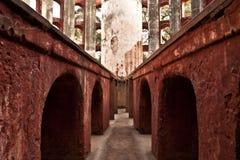 Old structure at Jantar Mantar, New Delhi Royalty Free Stock Photos
