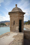 Old structure, Majorca, Spain. Small old construction, medieval architecture in Palma, Majorca, Spain Stock Photography