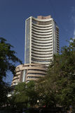 Old structure of Share market Bombay Stock Exchange Building, M Stock Photography