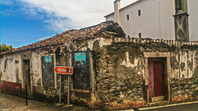 3 Old House Structure stock image
