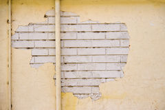 Old stucco brick wall Stock Photos