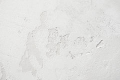 Old stucco peeling wall background, free space Stock Images