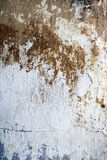 Old stucco wall texture of grey and brown colors Stock Image
