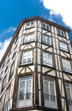 Old Studwork house facade in Rouen Stock Images