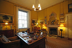 The Old Study located in Syon House Stock Photography