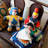 Old Chidrens Rag Dolls Royalty Free Stock Image