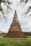 Old Stupa in Ayutthaya, Thailand Stock Image