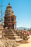 Old Stupa. In Bhaktapur City Royalty Free Stock Photos