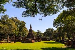 Old stupa at Wat Phra Kaeo Stock Photography
