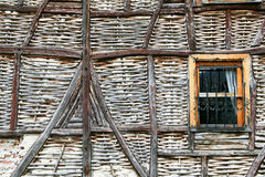Old style adobe wall Stock Photo