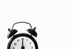 Old Style Alarm Clock Stock Photo