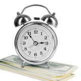 Old style alarm clock Stock Photography