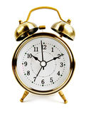 Old style alarm clock Royalty Free Stock Images
