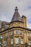 Old style architecture roof in Glasgow, Scotland Stock Images