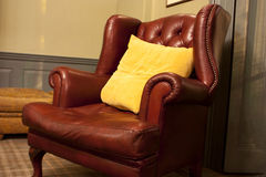 Old style armchair Royalty Free Stock Photo
