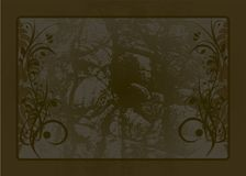 Old style background. Old stylish backgrounds with ornaments Royalty Free Stock Photos