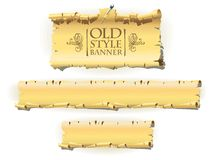 Old style banner Royalty Free Stock Photography