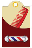 Old Style Barber Stock Images