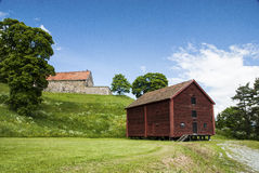 Old style barn Royalty Free Stock Images