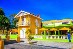 Old style beautiful house in Puerto Plata, Dominican Republic. Old style beautiful house in Puerto Plata Stock Photos