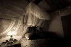 Old style bedroom Stock Photography