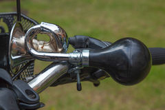 Old style bicycle horn Stock Image