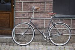 Old style bicycle Royalty Free Stock Image