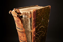 Old Style Book. Old damage Book for the wise royalty free stock photography