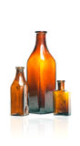 Old style bottles Stock Images