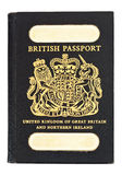 Old style british passport Royalty Free Stock Photos