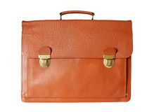 Old style business  briefcase Stock Photography