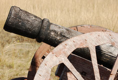 Old style cannon Stock Image