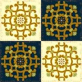 Old style for ceramic models. Old design for ceramic tile Vector Illustration