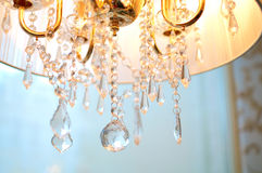 Old style chandelier. On light background. Shallow DOF Stock Photography