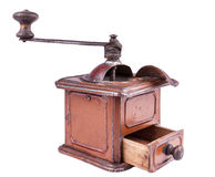 Old-style coffee mill Royalty Free Stock Image