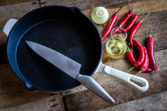 Old style cooking royalty free stock photography