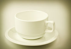 Old style cup Stock Photography