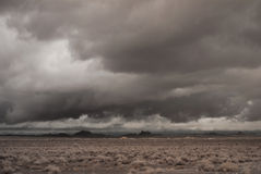 Old style desert storm Royalty Free Stock Photography