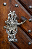 Old style door handle Stock Image